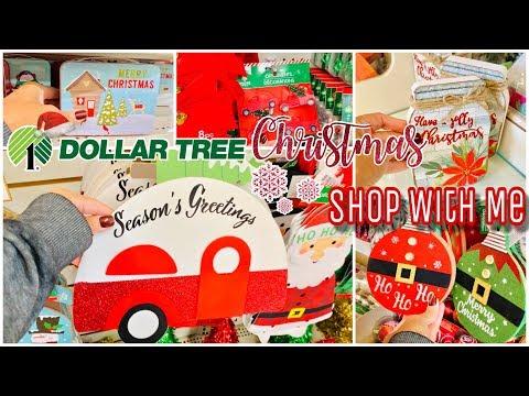 DOLLAR TREE CHRISTMAS SHOP WITH ME | NEW DOLLAR TREE CHRISTMAS