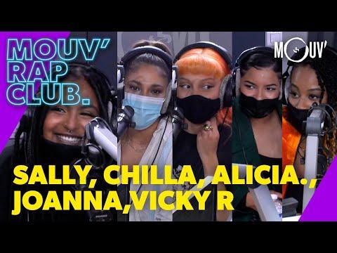Youtube: SALLY, CHILLA, ALICIA., JOANNA & VICKY R: leur rencontre, leurs projets….