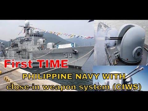BRP Conrado Yap Otobreda 40mm twin naval guns