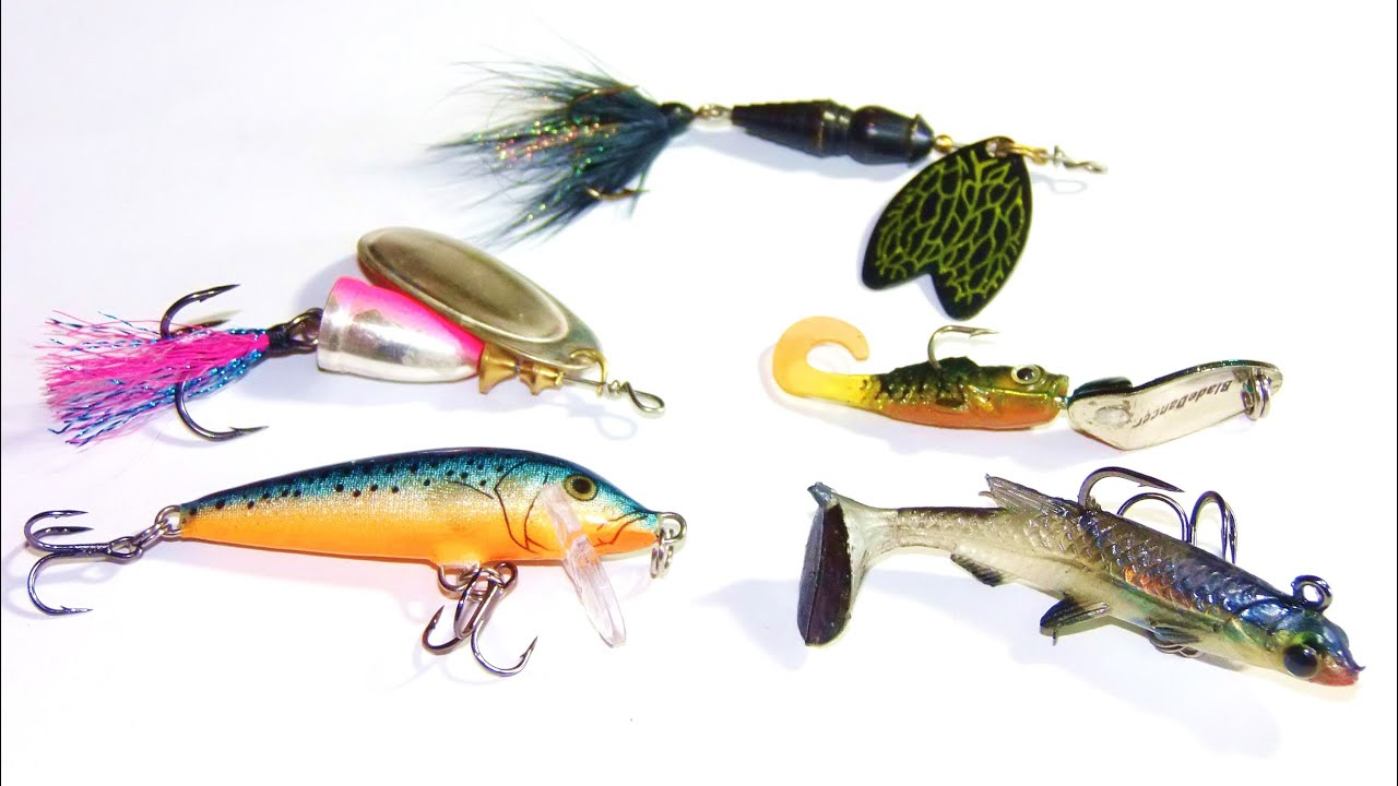 Best 5 Lures for Fishing Trout in lakes / river / creeks