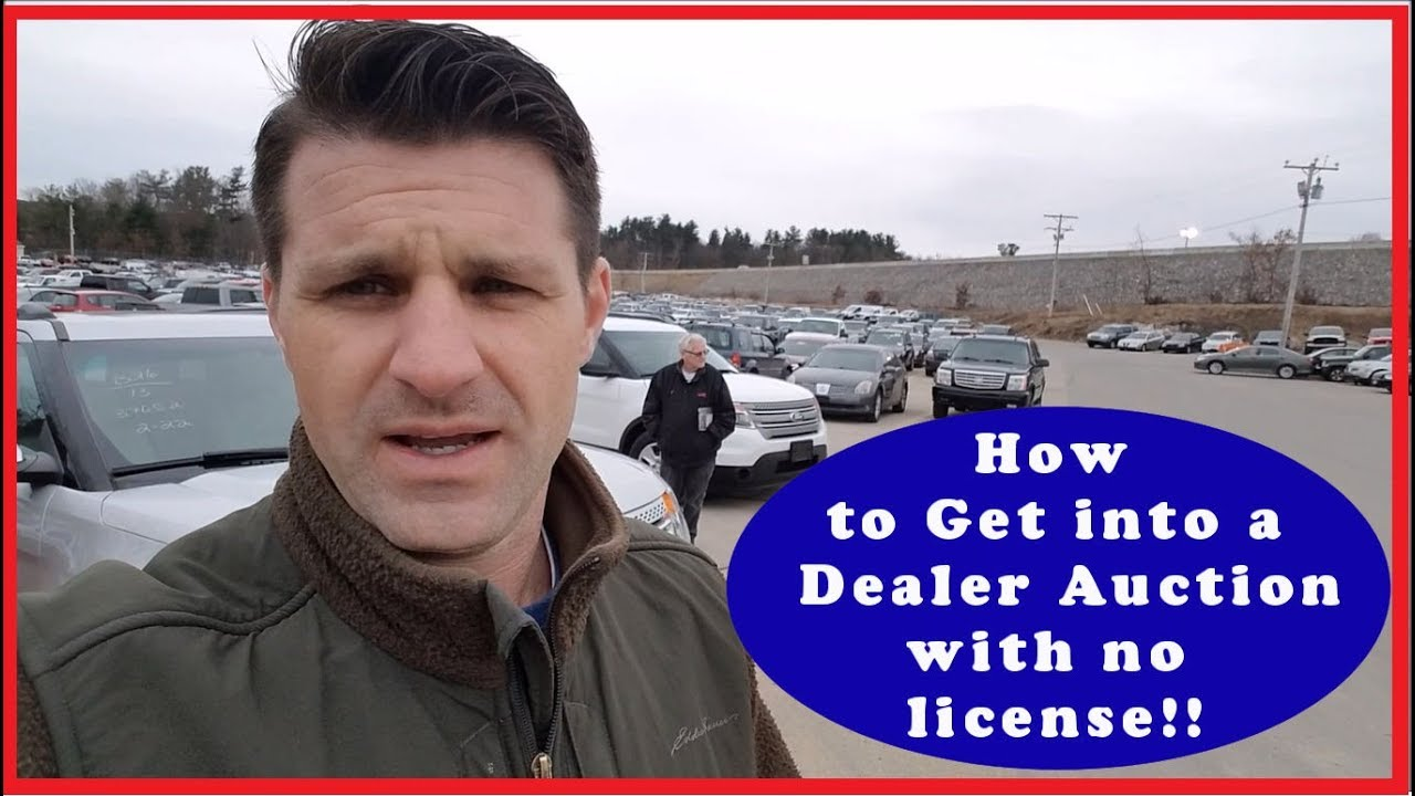 Car Auction License >> How To Get Into A Car Dealer Auction Without A License Flying Wheels