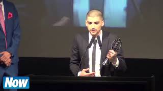 Zayn Malik Speech as He Accepts Asian Awards and thank One Direction April 2015 (HD)