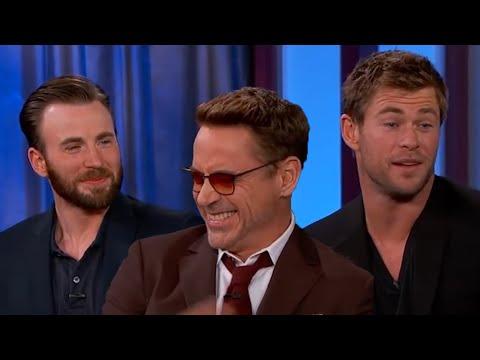 Avengers Cast FUNNY MOMENTS