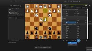 【チェス実況Part19】ブリッツチェス(Four Knights Game)