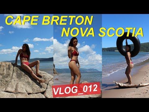 Cabin on a Cliff & a Beach Day in Nova Scotia   Chaunna Diaz