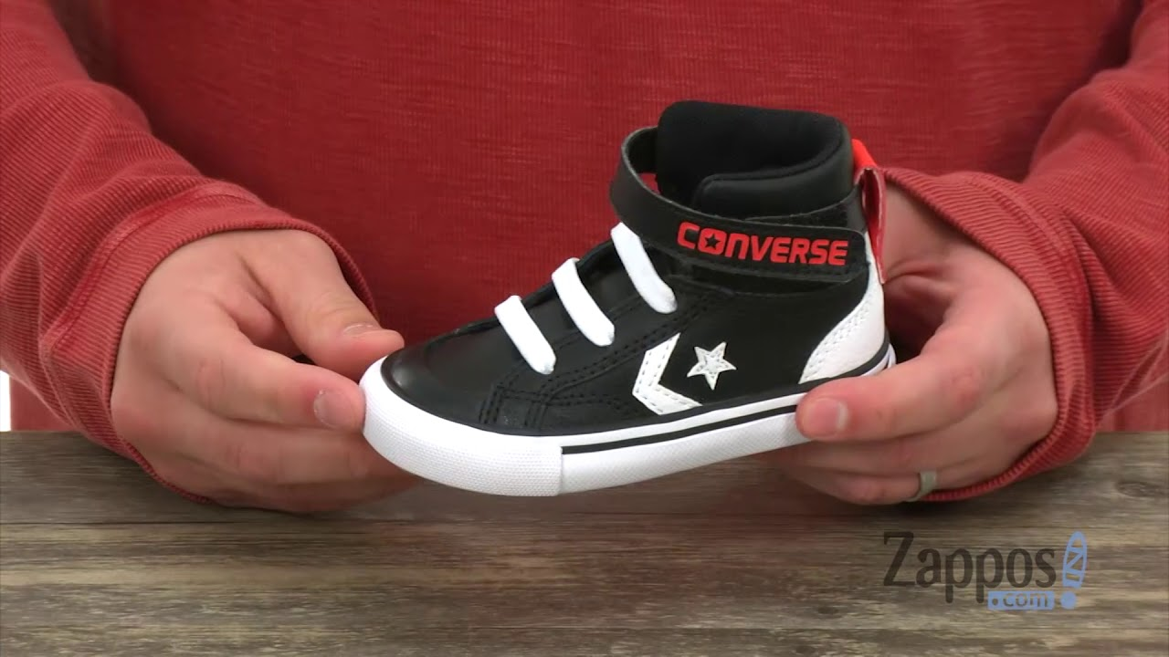 967e9fcdcd35 Converse Kids Pro Blaze Strap Hi (Infant Toddler) SKU  8991055 - YouTube