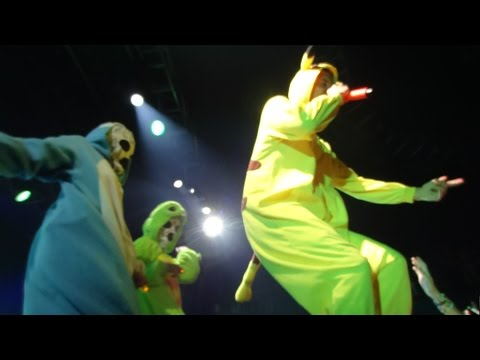 """ NEW Die Antwoord "" DADDY / BANANA BRAIN "" LIVE 2016 St. Paul HD Concert Pokemon"