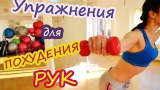 Упражнения для похудения рук|  Круговая тренировка(Упражнения для похудения рук. В сегодняшнем видео я покажу вам эффективные упражнения для похудения рук,..., 2016-01-15T17:04:30.000Z)