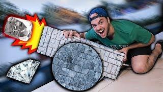 CANHÃO QUE ATIRA PLACA DE DIAMANTE !!! thumbnail