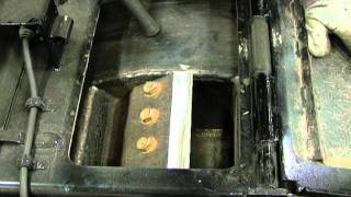 Repeat youtube video Bandit Chippers - Changing/Servicing Knives on a DRUM-Style Chipper (Part 1 of 2)