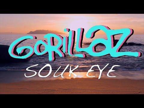 Gorillaz - Souk Eye (Lyrics) [Unofficial Visualiser]