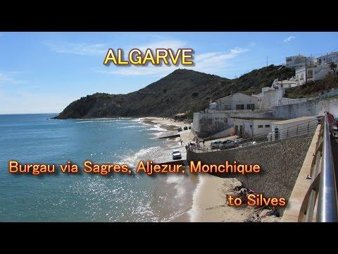 Portugal Algarve, Sagres to Aljezur, Monchique and Silves