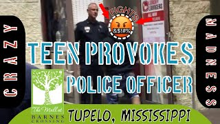 FIGHT- Teen Approaching Police Officer At Tupelo Mall Turns Into MADNESS