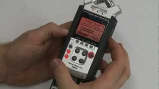 how to line input to mic input on zoom h4n recorder