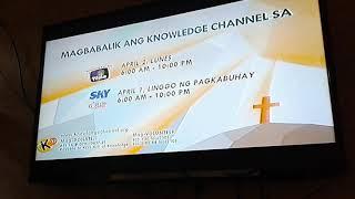 Knowledge Channel Holy Week Testcard 2018