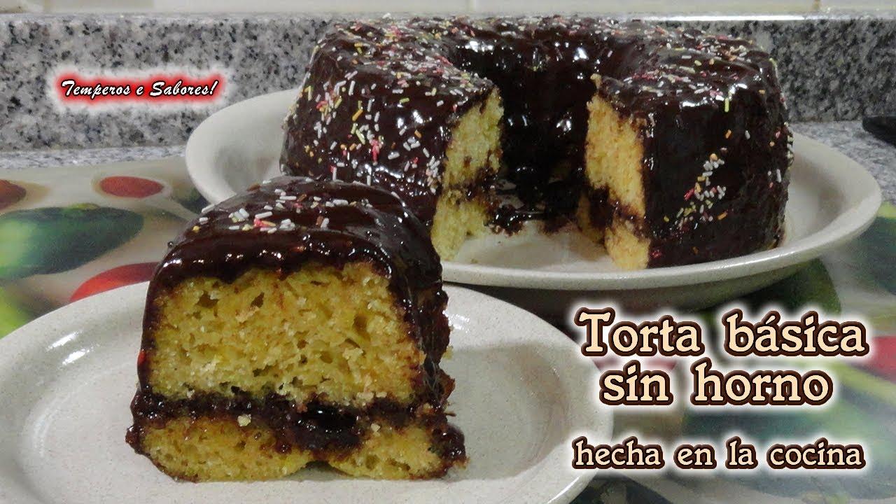 TORTA SIN HORNO HECHA EN LA COCINA, Receta Muy Fácil Y Perfecta