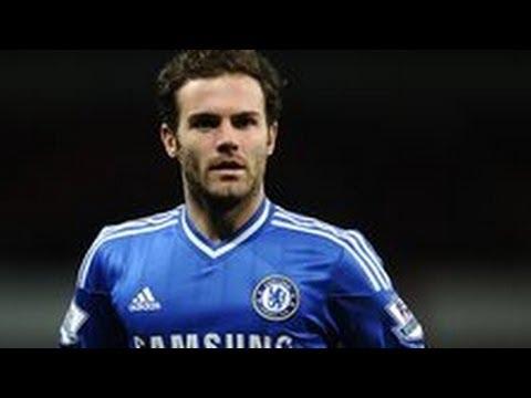 Juan Mata a £40m target for Manchester United