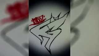 Graffiti Tutorial: Draw Letter G In Graffiti Step By Step