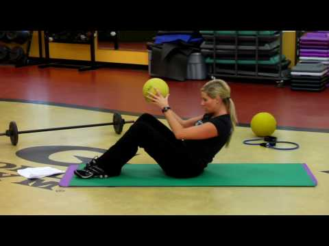 Mens Health Medicine Ball Ab Workout Challenge