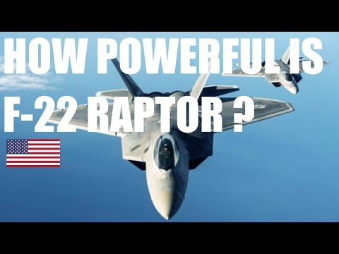 HOW POWERFUL IS F-22 RAPTOR ? | JET FIGHTER SPECIFICATION