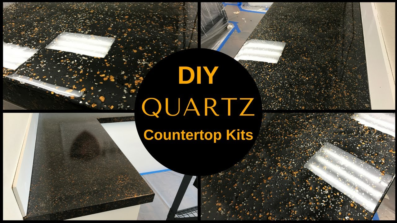 How To Diy Black Quartz Countertop Resurfacing Kits
