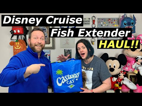 Disney Cruise Fish Extender Haul | Here Are All The Gifts From Our Disney Dream Fish Extender Group
