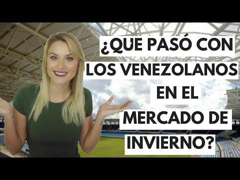 ¿Donde están los VINOTINTO FICHAJES VENEZOLANOS mercado de invierno