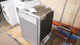 Посудомийна машина Bosch 45 див. Опис, ремонт, недоліки.