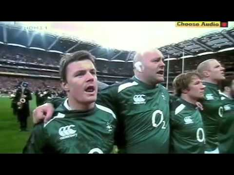 What are the lyrics to the Irish national anthem – and why does