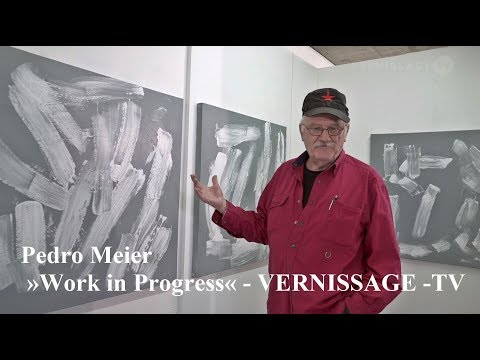 PEDRO MEIER – »Work in Progress« – VERNISSAGE-TV – Eggenschwiler-Wiggli-Stiftung Switzerland Museum