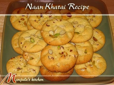 Nan Khatai, Biscuits Recipe by Manjula