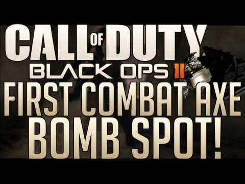 Black Ops 2 Awesome Combat Axe Bomb Spot!!!