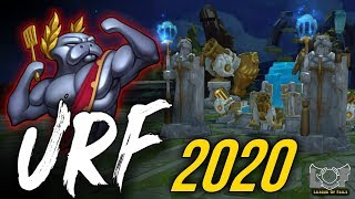 URF IS BACK 2020 - NEW ARURF on PBE | League of Legends Stream