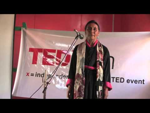 A warrior in  every woman | Spalzes Angmo | TEDxLeh