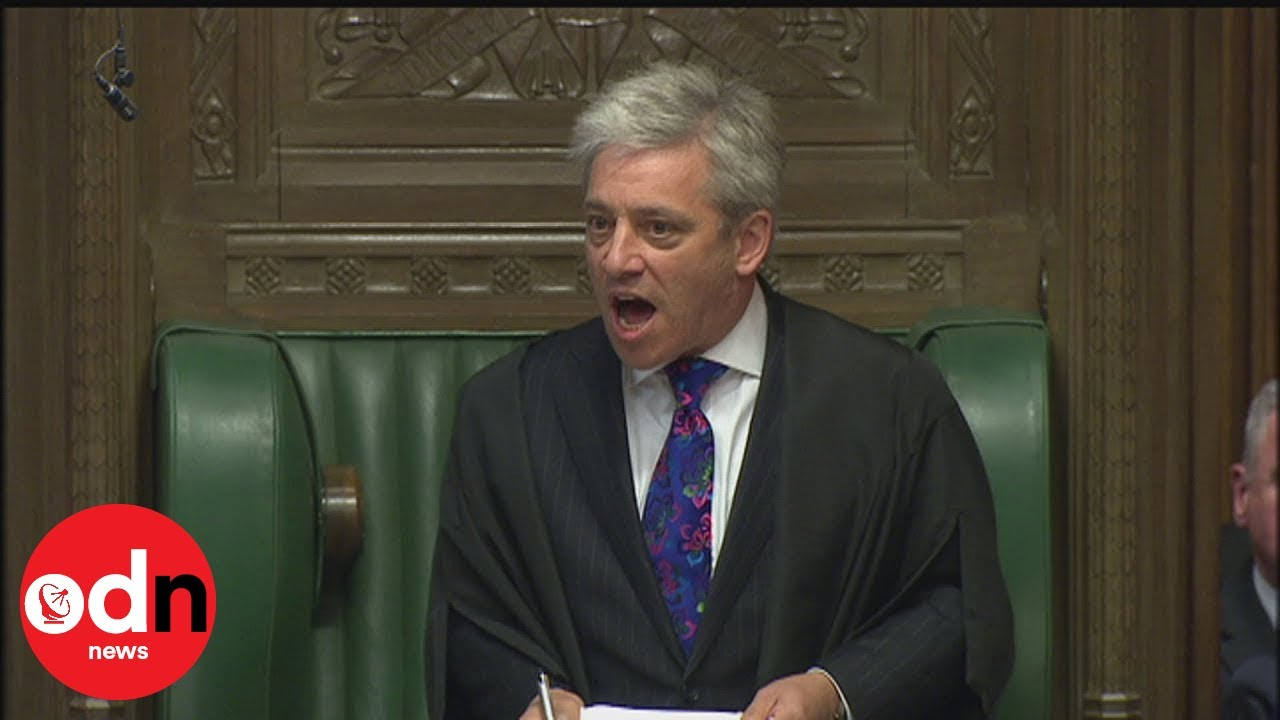 Order, ORDER! The best moments from John Bercow