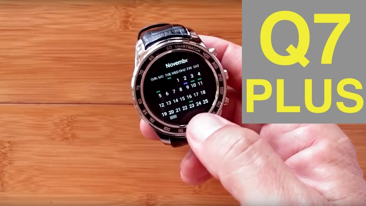 FINOW Q7 PLUS Android 5 1 Smartwatch with microSD Support: Unboxing & 1st  Look
