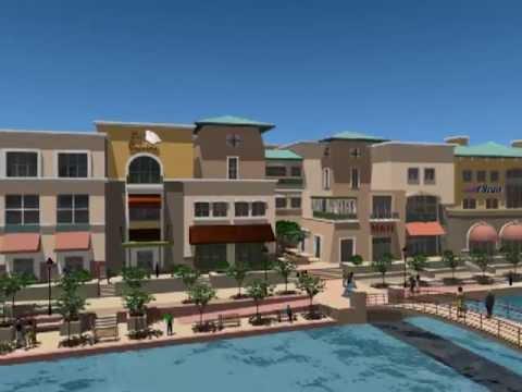 Scottsdale Waterfront 3D Visualization