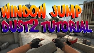Dust 2 Jump Boost Window | CS:GO Tutorial