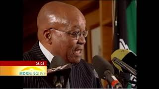 Zuma reaction after NPA dropped his corruption charges #spytapes