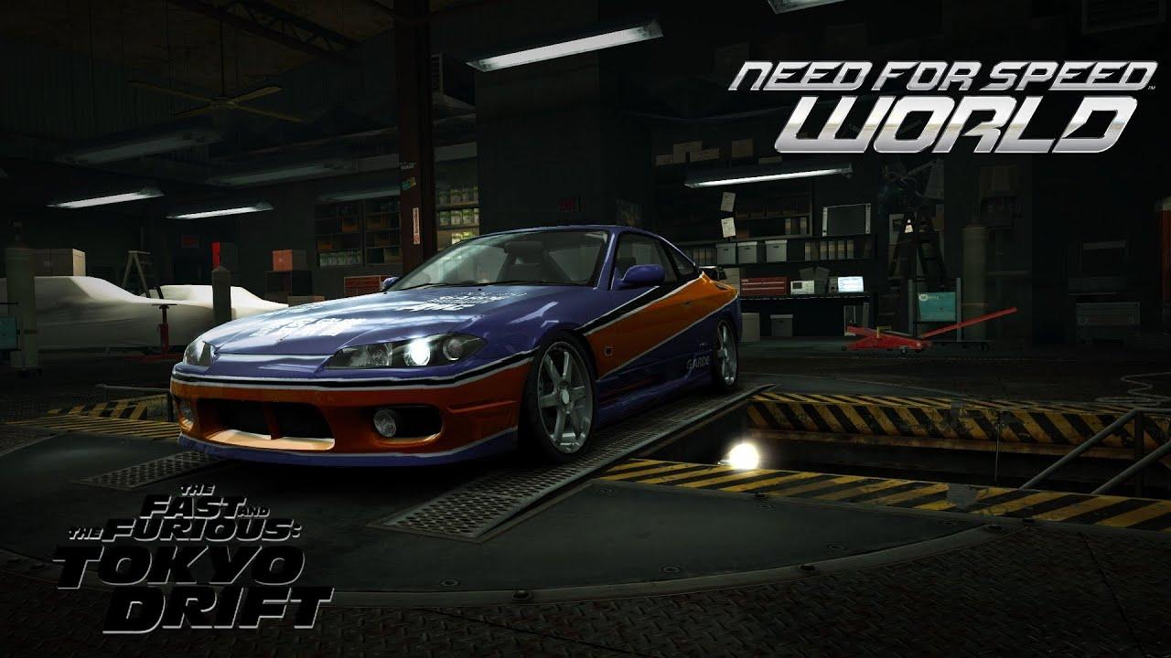 need for speed world nissan silvia s15  u0026quot mona lisa u0026quot   fast