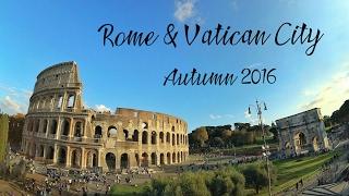 Rome Italy & Vatican City Europe Autumn 2016