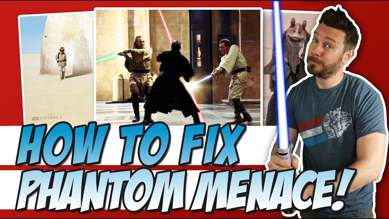 Star Wars: The Phantom Menace | Modern Trailer - YouTube |Star Wars Phantom Menace Youtube