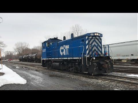 Railfanning Geneva, NY