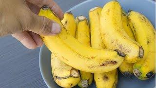فوائد قشر الموز للشعر يزيد طولة ويسرع نموه