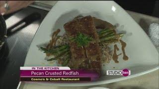 Studio 10: pecan crusted redfish