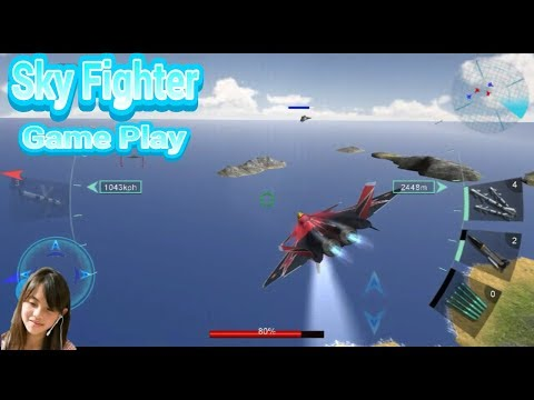 AMAZING SKY FIGHTER BATTLE 3D ANDROID GAME PLAY ! - 동영상