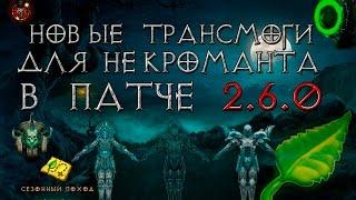 видео: Diablo 3: новые трансмоги для некроманта 2.6.0