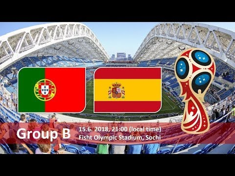 Spain vs portugal summary 3-3 (best of goals/actions)