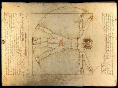leonardo da vinci the vitruvian man youtube. Black Bedroom Furniture Sets. Home Design Ideas