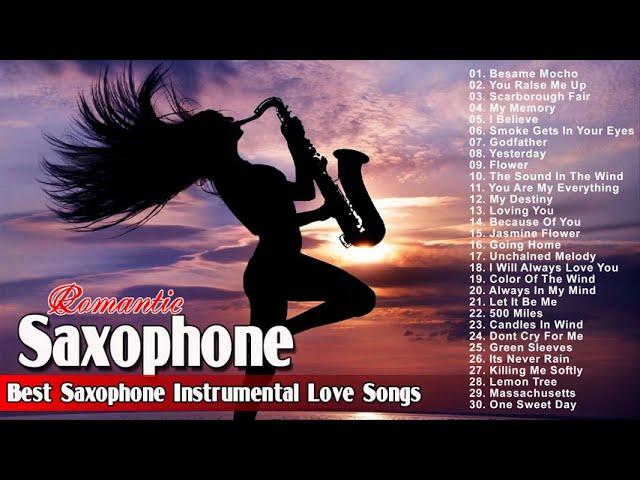 The Very Best Of Romantic Saxophone Love Songs - Best